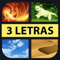 4 fotos 1 palabra 3 letras